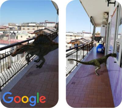Google introduce dieci dinosauri da vedere in realtà aumentata: ecco come portare gli animali di Jurassic World nel mondo reale