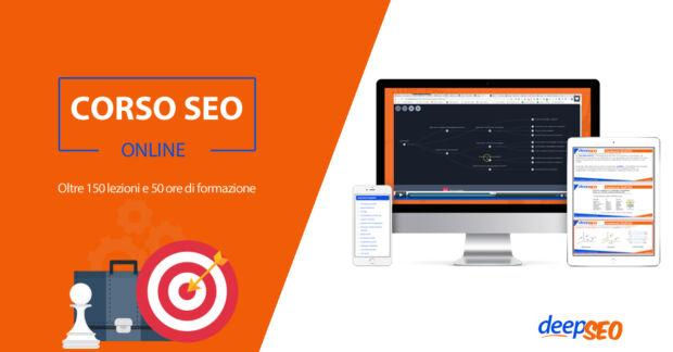 Corso SEO online avanzato per posizionamento su Google