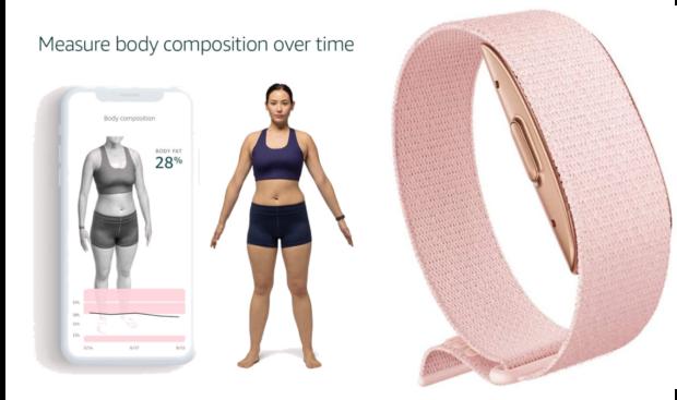 Halo è il bracciale di Amazon che scansiona la voce e il corpo degli utenti, rilevando l'umore e calcolando il grasso corporeo