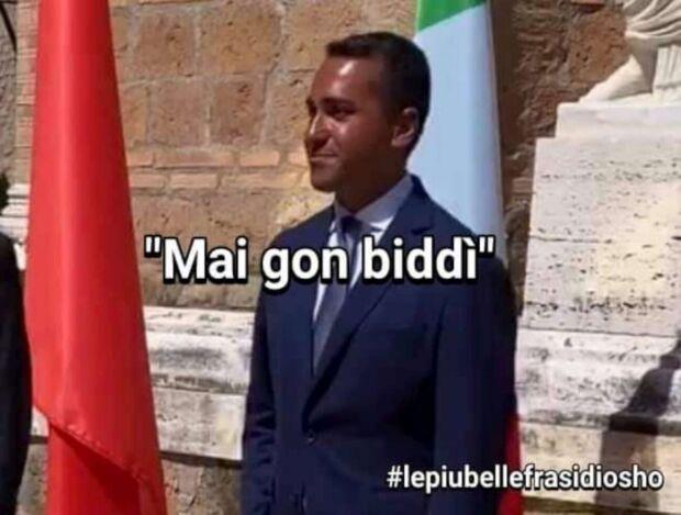 meme di maio abbronzato razzisti