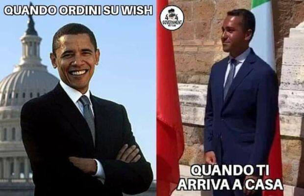 meme di maio obama wish