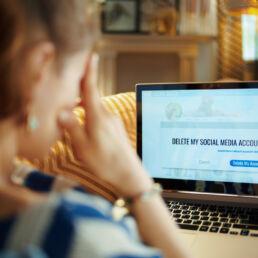 Social detox: come eliminare gli account social
