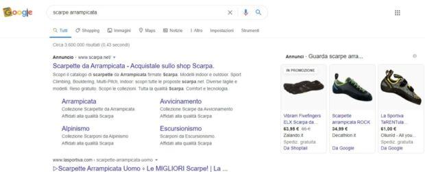 SEA su Google