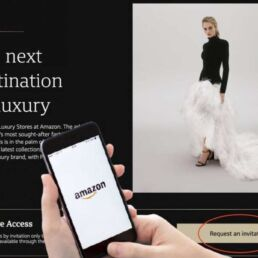 Amazon Luxury Stores per gli acquisti di alta moda
