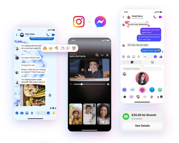 Integrazione tra Messenger e Instagram