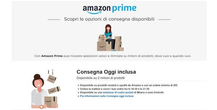 Amazon propone le consegne senza fretta