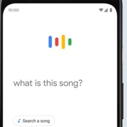 Cercare una canzone su google fischiettando