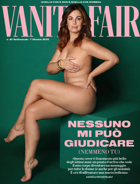 copertina vanity fair vanessa incontrada
