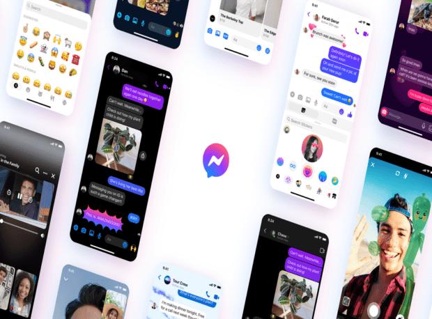 Facebook Messenger cambia volto: nuovo logo e nuove funzioni in arrivo
