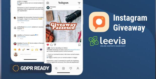 Come fare giveaway su Instagram a norma di legge in Italia