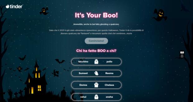 Homepage del sito dell'iniziativa