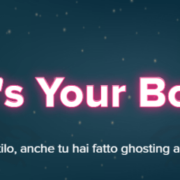 Ghosting su Tinder: ecco l'iniziativa It's Your Boo