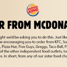 Ordinate da McDonald's