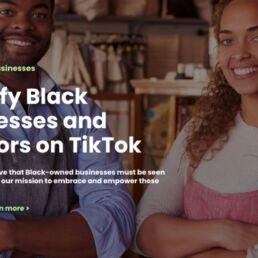 Support Black Businesses: TikTok e la Black community