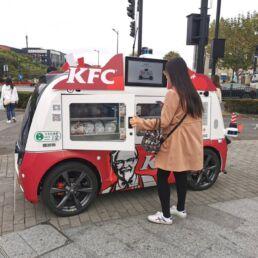 KFC sta usando dei veicoli autonomi
