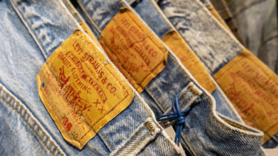Levi's SecondHand: jeans di seconda mano sostenibili