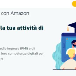 Amazon per le PMI: corsi di formazione gratuiti