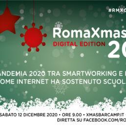 RomaXmasCamp 2020: un BarCamp tutto online