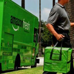 Amazon Fresh a Milano: consegna della spesa in giornata