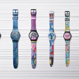 Swatch x MoMA: orologi in edizione speciale dedicati all'arte